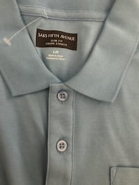 Asks fifth Avenue polo shirt- Large  Columbia, 21045