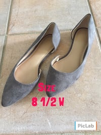Ladies gray flats shoes  Slidell, 70458