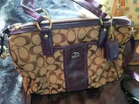 Coach monogram purse AUTHENTIC used once!