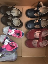 Toddler's assorted shoes Bakersfield, 93314