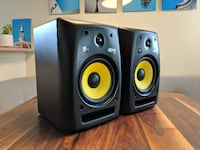 Pair of KRK Rokit 8 G2 Audio Monitors (Speakers) Vancouver