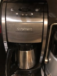Excellent stainless steel cuisinart coffee maker  Silver Spring, 20906