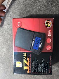 BRAND NEW JZ 230 DIGITAL POCKET SCALE