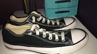 black low top converse W8 worn twice Sioux Falls, 57106