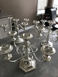 stainless steel candle holder lot Barrie, L4N 0K4