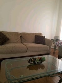 brown fabric 3seater and 2seater sofa East Gwillimbury, L9N 0C2