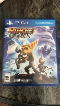 Ratchet clank sony ps4 game