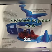 Tupperware Quick Chef Pro in Green not blue! Alexandria, 22308