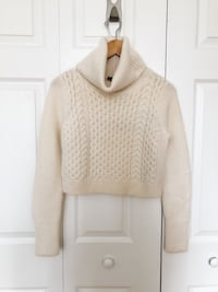 *NEW - Club Monaco cream sweater (small) Toronto, M4P 1Y5