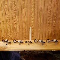 Hand forged candle holders your choice. Sabin, 56580