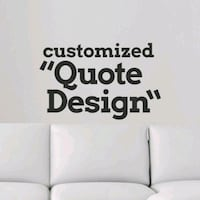 (Wall sticker) create your own idea!  Burnaby