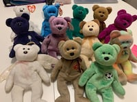 TY Beanie Babie Bear Collection Vancouver, V5Z 1M9