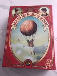 Around the World in 80 days board game Markham, L3R 3E3