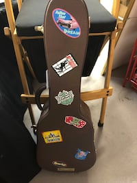 Elvis commemorative guitar case