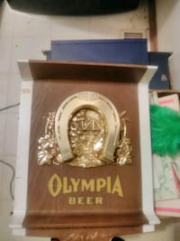 Olympia lighted beer sign Omaha, 68022