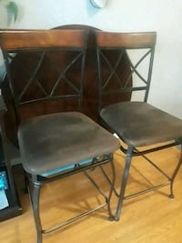 """2 Dining room chairs for pub table 26""""  Markham"""