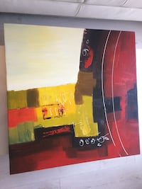 2 abstract original paintings artwork Toronto, M9A 0A3