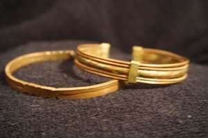 Pair of Copper Bracelets