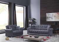 NEW SOFABED & LOVESEAT BED GRAY Clifton, 07013