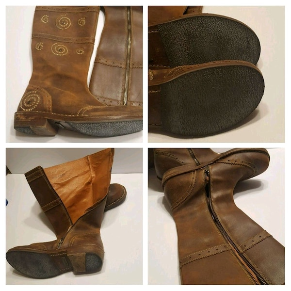 fa1139002a9b Used Birkenstock Tatami Size 39 8.5 Brown Leather Boots for sale in San Jose  - letgo