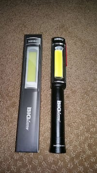 FLASHLIGHT FROM NEBO 400 LUMENS W/ HOLSTER Pickering, L1W