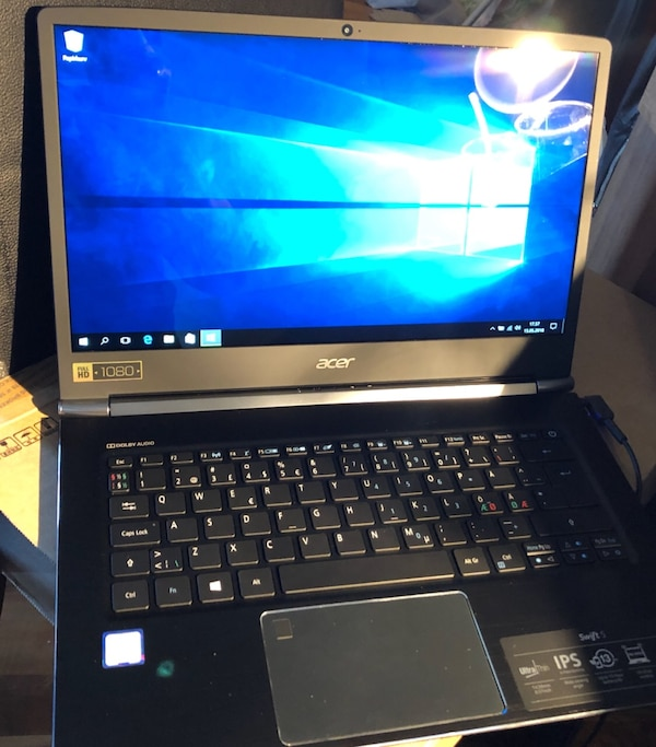 NY ACER SWIFT 5 SF514-51-74x1 Obsidian Black