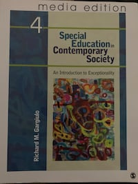 Special Education in Contemporary Society, 4e – Media Edition: An Introduction to Exceptionality Milford, 18337