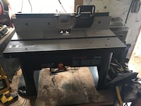 black and gray table saw Perth East, N0K