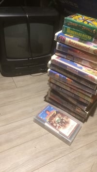 Small tv and VHS tapes  Edmonton, T5T 1S1