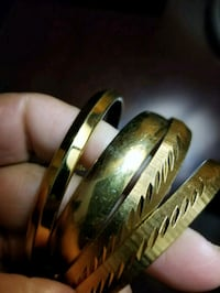 Monet Gold Plated Bangles