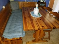 Custom pine kitchen or breakfast nook table 2287 mi