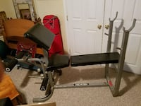 Weight Bench Solid Steel STAFFORD