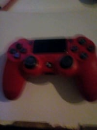 red and black Sony PS4 controller Whitworth, OL12 8TF