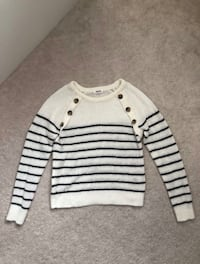 ARDENE White Stripped Sweater Markham, L6B 0R9