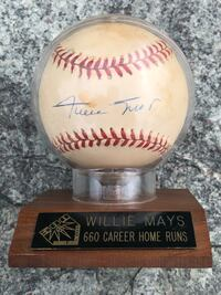 Willie Mays autographed baseball Rockville, 20850