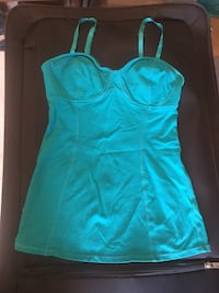 Green bustier size small 3489 km