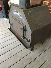 Cast iron stove, good condition must sell