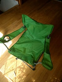 green and white camping chair Rockville, 20851