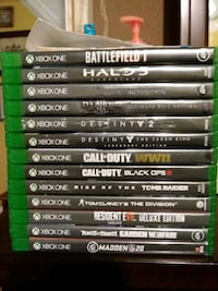 Selling bulk of my games, don't need anymore  Worcester, 01604