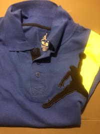 Jordan polo stule boys med shirt nwt LAUREL