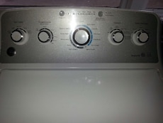 #1476 Brand New GE high efficiency washer