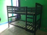 Chocolate brown bunk bed New York, 11385