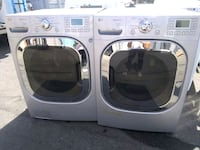 LG WASHER  AND DRYER FRONT LOAD CHROME COLOR  Murrieta