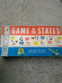 game of the states Board game 1960