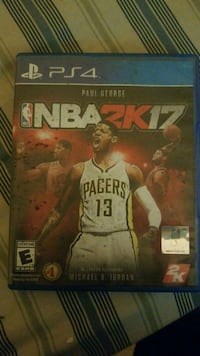 PS4 NBA 2K16 game case Washington, 20001