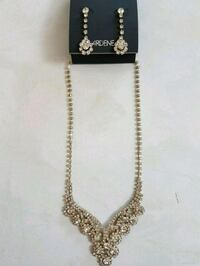 silver-colored chain necklace with pendant Mississauga, L5R 3J8