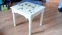 white wooden table with white wooden base Lanham, 20706