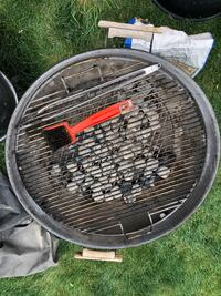 Charcoal Grill and accessories