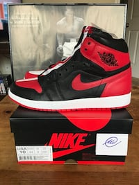 Jordan 1 Homage to Home Size 10 DS Arcadia, 91006