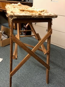 PRIMITIVE VINTAGE IRONING BOARD